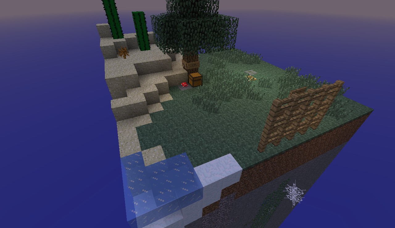 One Chunk Survival скриншот 3