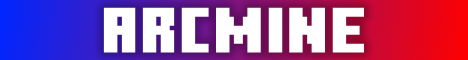 Баннер сервера Minecraft ArcMine