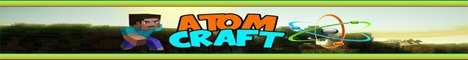 Баннер сервера Minecraft AtomCraft.ru