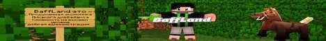 Баннер сервера Minecraft BaffLand