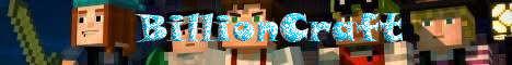 Баннер сервера Minecraft BillionCraft