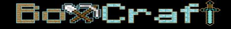 Баннер сервера Minecraft BoxCraft
