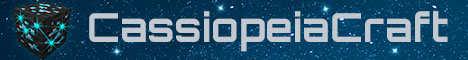 Баннер сервера Minecraft CassiopeiaCraft.ru