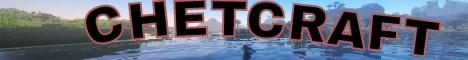 Баннер сервера Minecraft CHETCRAFT