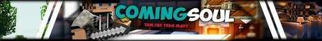 Баннер сервера Minecraft ComingSoul