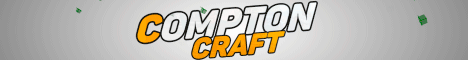 Баннер сервера Minecraft Compton Craft