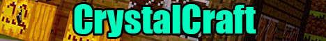 Баннер сервера Minecraft CrystalCraft