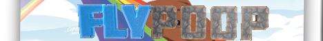 Баннер сервера Minecraft FlyPoop