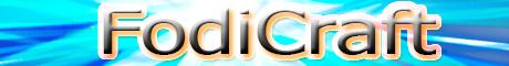 Баннер сервера Minecraft FodiCraft
