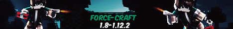 Баннер сервера Minecraft ForceCraft.1.8 -