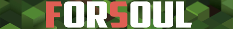 Баннер сервера Minecraft ForSoul