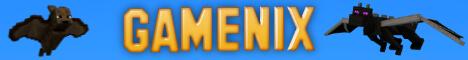 Баннер сервера Minecraft Gamenix