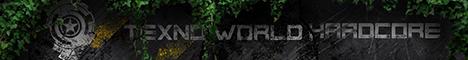 Баннер сервера Minecraft TexnoWorldHardcore