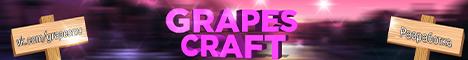 Баннер сервера Minecraft GrapesCraft