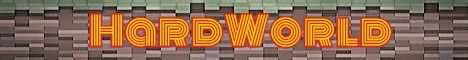 Баннер сервера Minecraft HardWorld