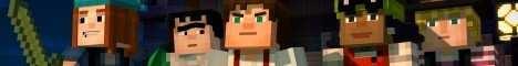 Баннер сервера Minecraft Herobrine World