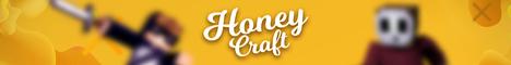 Баннер сервера Minecraft Honey Craft