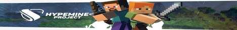 Баннер сервера Minecraft HYPE_MINE_NEW