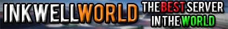 Баннер сервера Minecraft InkWellWorld