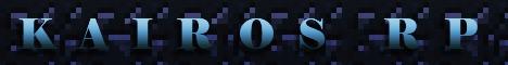 Баннер сервера Minecraft KairosRP