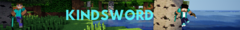 Баннер сервера Minecraft KindSword