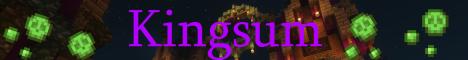 Баннер сервера Minecraft Kingsum TLC
