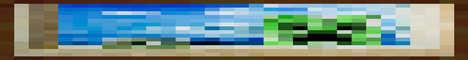Баннер сервера Minecraft Kodm.ru
