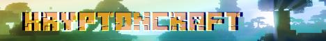 Баннер сервера Minecraft KryptonCraft
