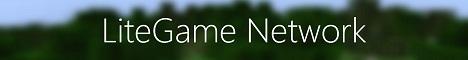 Баннер сервера Minecraft LiteGame Network