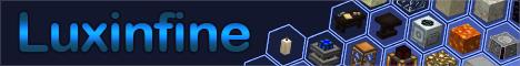 Баннер сервера Minecraft Luxinfine