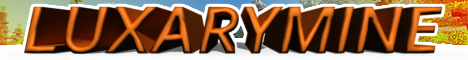 Баннер сервера Minecraft LuxaryMine