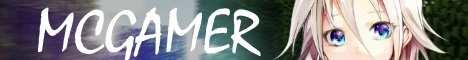 Баннер сервера Minecraft MCGAMER