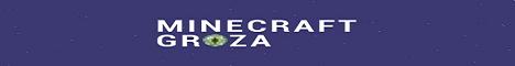 Баннер сервера Minecraft Minecraft Groza