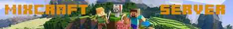 Баннер сервера Minecraft MixCraft