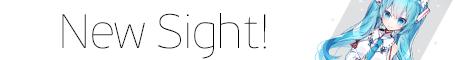 Баннер сервера Minecraft New Sight -