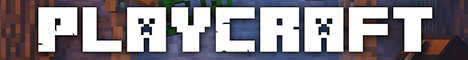 Баннер сервера Minecraft PlayCraft.com.ua