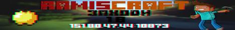 Баннер сервера Minecraft RamisCraft