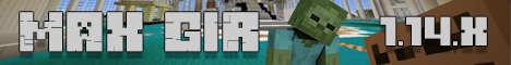Баннер сервера Minecraft Server MaxGir