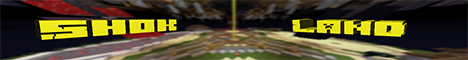 Баннер сервера Minecraft ShokLand
