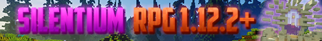 Баннер сервера Minecraft Silentium RPG