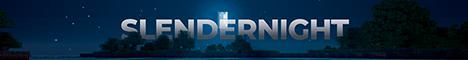 Баннер сервера Minecraft SlenderNight