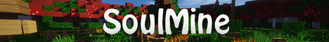 Баннер сервера Minecraft SoulMine