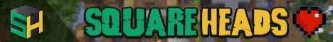 Баннер сервера Minecraft SquareHeads