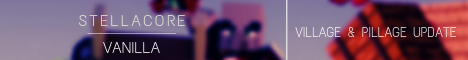 Баннер сервера Minecraft stellacore