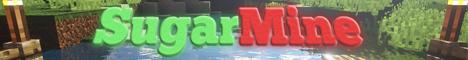 Баннер сервера Minecraft SugarMine