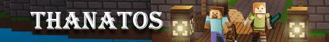 Баннер сервера Minecraft Thanatos Reborn