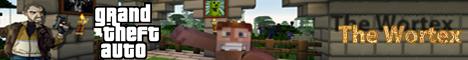 Баннер сервера Minecraft GTA San Andreas