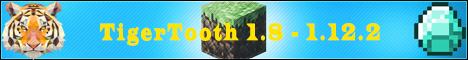 Баннер сервера Minecraft TigerTooth