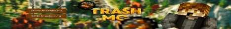 Баннер сервера Minecraft TrashMC