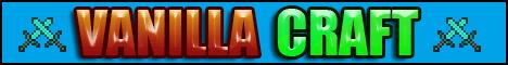 Баннер сервера Minecraft VanillaCraft